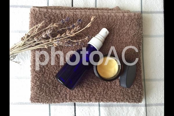 アロマ香るスキンケアの写真