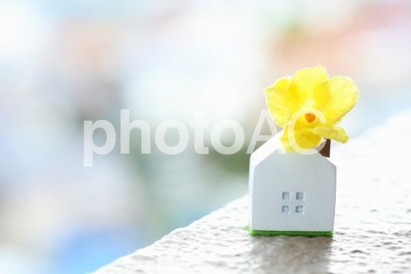 幸せな家 マイホーム イメージ素材の写真