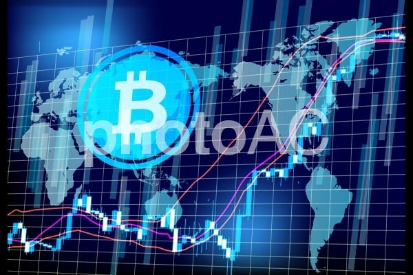 ビットコインチャートの推移-ワールドマーケットの写真