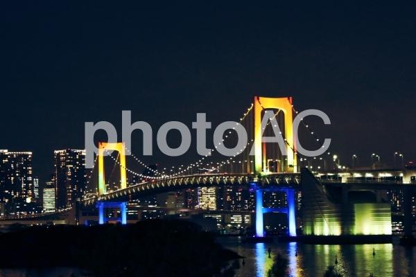 レインボーブリッジ 夜景 2の写真