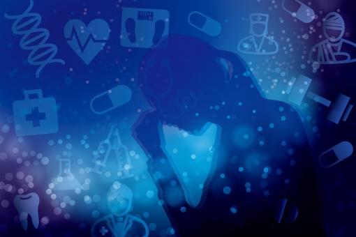 健康 医療 ダイエット 病院 体重 パニック いらいら ハート 焦り 精神的 歯 心配 不安 薬 医療過誤 注射 シルエット 救急 保険 医療費 悩む 悩み 医者 看護 研究 寝不足 睡眠不足 DNA 限界 青