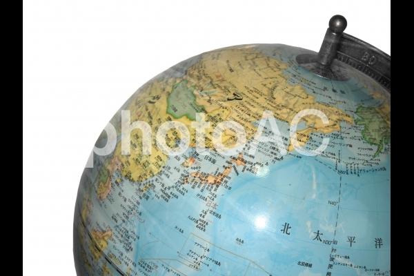 地球儀01の写真