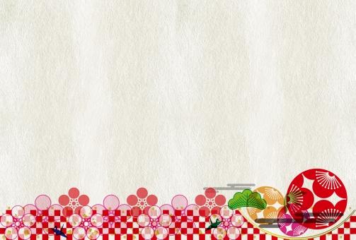 年賀状サイズ背景シリーズ 年賀状 市松 年賀状素材 年賀ハガキ 年賀はがき 年賀 新年 正月 お正月 正月素材 お正月素材 市松 雲 花 春 梅 うめ ウメ メッセージカード メッセージ 和紙 テクスチャ テクスチャー バックグルアンド バックイベント 鶴 折紙 紅白 紙