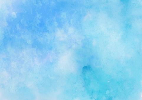 テクスチャ テクスチャー 背景 水彩 バック バックグラウンド 水彩画 ウォーターカラー 絵の具 塗りつぶし ベタ ラフ にじみ 滲み グリーン 新緑 さわやか イメージ エコ 環境 和 ドロー ペイント 模様 柄 手書き 青 緑 ブルー 自然 夏 初夏 手描き ハンドメイド 空 青空 ブルースカイ 混色 ニュアンス 抽象 アブストラクト