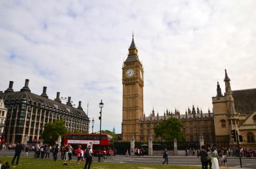 ビッグベン ロンドン イギリス タワー 人々