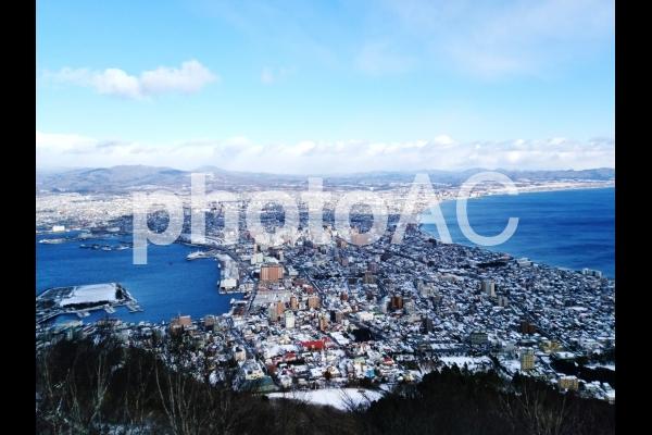 函館山からみた街並みの写真