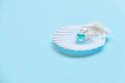 貝殻 貝 海 真珠貝 白い 青い 白い貝 白い貝殻 ビーズ 丸い 小粒 粒 つぶつぶ ブルー 青 青色 白 白色 空色 淡い 淡色 パステル テクスチャ 背景 壁紙 物 小物 雑貨 女性的 可愛い かわいい キレイ 綺麗 きれい ステキ 素敵 ころころ コロコロ キラキラ きらきら おしゃれ オシャレ お洒落 クリスタル 小さい おもちゃ オモチャ 玩具 物入れ 三つ 3個 3