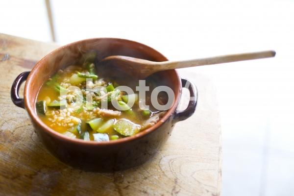 スープリゾットの写真