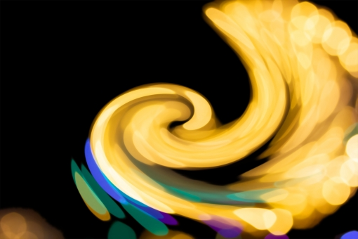 光の羽 PSDの写真
