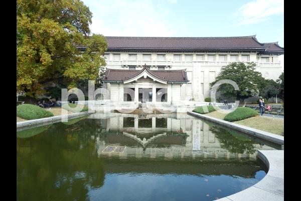 東京国立博物館前庭の写真