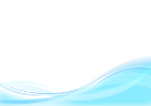 波イメージ ブルーの写真
