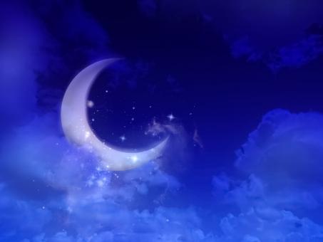 月夜の写真