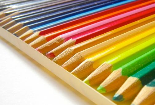 色鉛筆 カラー 虹 レインボー パステル えんぴつ 学校 塗り絵 美術 画材 色えんぴつ 色エンピツ カラフル 鮮やか ぬり絵 デザイン スケッチ 絵画 色