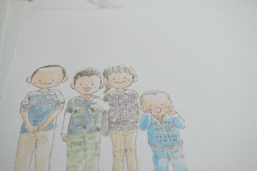 イラスト 絵 水彩 子供の絵 子供 こども