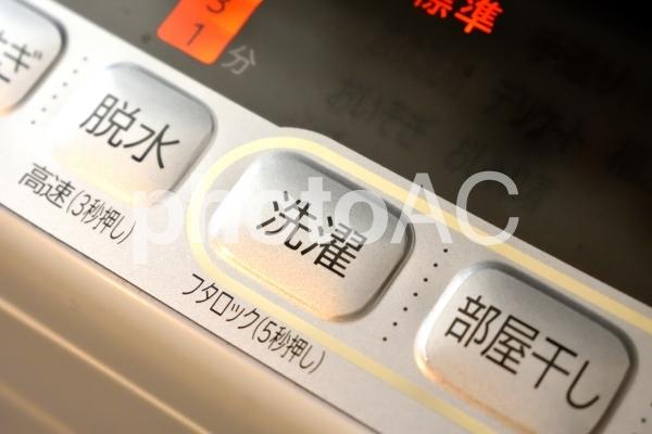 洗濯機 イメージ 自動洗濯機の写真