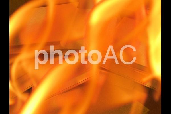 燃え上がる本の写真