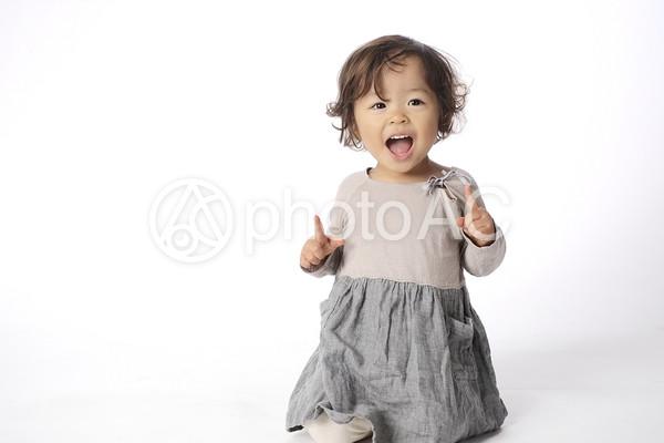 可愛い女の子 1の写真