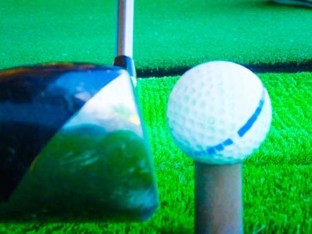 ゴルフ スイング ミート インパクト ボール クラブ スポーツ ヒット ショット 命中 当たり 瞬間 スローモーション