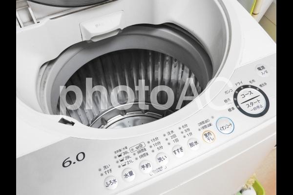 洗濯機 イメージ 自動の写真
