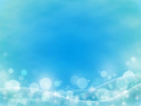 背景 キラキラ 光 バックグラウンド バック テクスチャ 光の粒 輝き きらきら 流線 曲線 抽象 アブストラクト 水のイメージ 水 海 水中 イメージ 雰囲気 夏 初夏 爽やか 清々しい エコ 環境 自然 CG 青 水色 ブルー