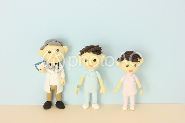 医者と看護師2の写真