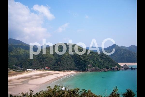 五島 高浜海水浴場の写真