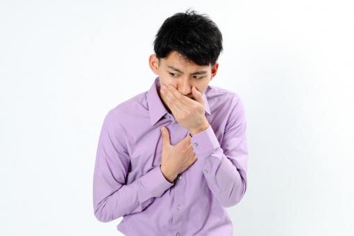 人物 生物 人間 男性 若い 青年 アジア アジア人 日本 日本人 ポーズ モデル カジュアル ラフ バストアップ 上半身 ボディランゲージ 示す 伝える 意志 コミュニケーション 手 アピール体調 吐き気 気持ち悪い mdjm002
