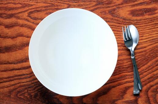 「フォークとお皿「 フリー画像」の画像検索結果