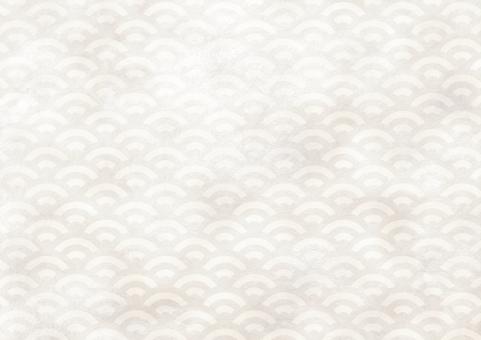 青海波 白の写真