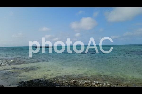 竹富島のカイジ浜の写真