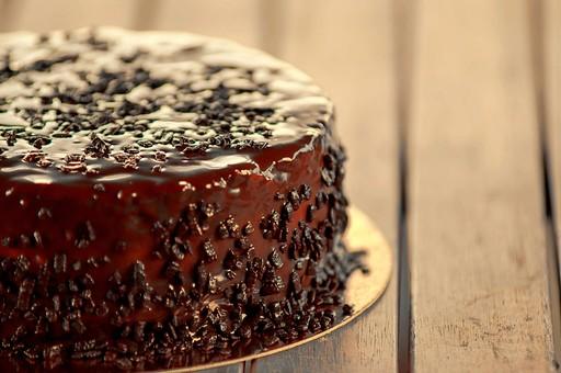 チョコレートケーキ1の写真