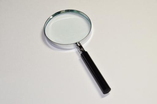 ルーペ 虫眼鏡 天眼鏡 拡大 研究 調べる 見る 観察 レンズ 凸レンズ