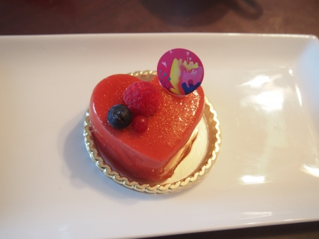 ハートケーキ ハート ケーキ デザインケーキ ミニケーキ 可愛い スイーツ