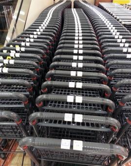 ショッピングカート ショッピング 買い物カート かーと 買い物カゴ 買い物 ショッピングモール モール スーパー カゴ 移動カート かご ディスカウントストア ドラッグストア 買い物用 転がす 入れる