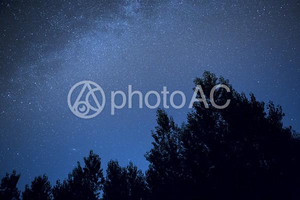 満天の星空3の写真