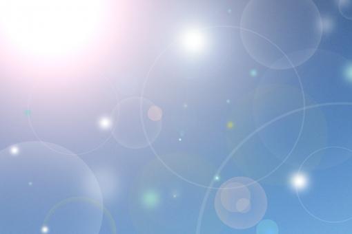 青空 大空 宇宙 太陽 光線 シャワー 輝き 幸福感 高揚感 幸せ 背景 テクスチャ イメージ 祝福 春 夏 初夏