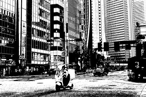 新宿 都心 tokyo 新宿西口 shinjuku 昼間 昼 新宿区 にぎわう 賑わう 人 混雑 休日 おでかけ お出かけ 都内 ひとごみ 人混み 中心街 東京都 交差点 十字路 交通 モノクロ スケッチ スケッチ風 モノクローム 雰囲気 コントラスト 昭和 なつかしい 懐かしい 存在感 恐ろしい 迫力 静止 歓楽街 盛り場 ネオン街 夜の街 繁華街 ナイトスポット 黒 黒色 異様 異色 2輪 2輪 スクーター バイク 高層ビル 高層ビル群 クルマ 車 背景 新宿大ガード 都道 交叉点 スクランブル 超高層ビル 加工 モノクロ画像 白黒画像 レオパレス 人工的 面白い 室外 屋外 景観 都会 名所 日本 関東 首都圏 東京 ビル 建物 建築 建築物 施設 店舗 観光 観光地 旅行 見物 買い物 首都 無彩色 版画 西新宿 新宿駅西口 デッサン 描画 線画 鉛筆画 鉛筆 白黒 黒白 モノトーン sjk23