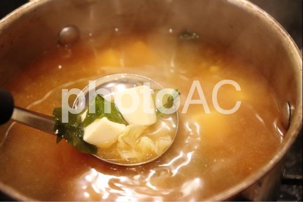 味噌汁の写真