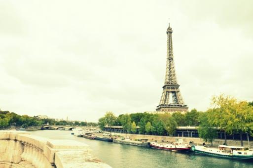 フランス パリ エッフェル塔 France タワー Paris Eiffel 町並み 海外 風景 背景