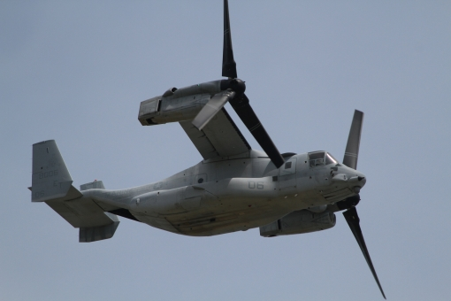 mv22b 普天間基地 オスプレイ 岩国フレンドシップデー フライングタイガーズ 航空機