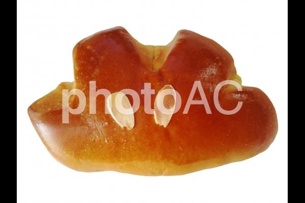 クリームパン 切り抜き 背景透過の写真