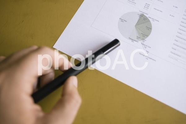 チャートグラフ・円グラフ2の写真