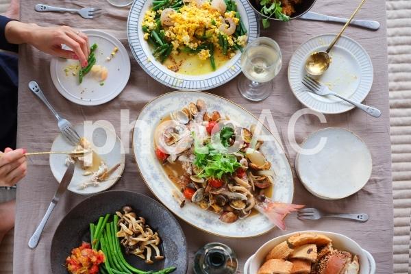 ホームパーティー料理の写真
