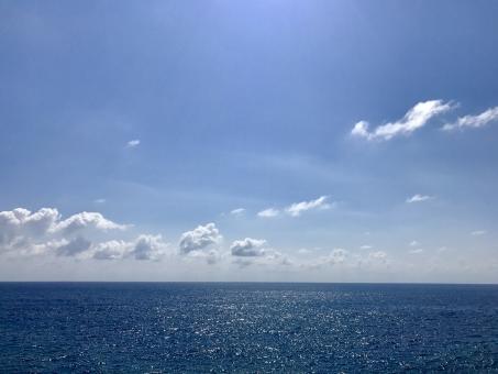 波照間島の海の写真