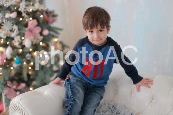 クリスマスの少年6の写真