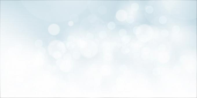 背景 白の玉ボケの写真