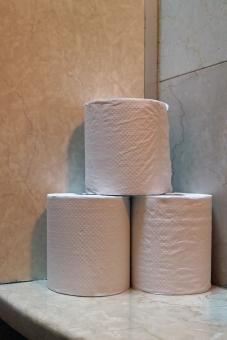Toilet paper トイレ トイレット ペーパー 紙 お手洗い 手洗い 御化粧室 化粧室 WC 便所 お便所 おトイレ