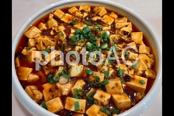 中華料理 麻婆豆腐 お皿の写真