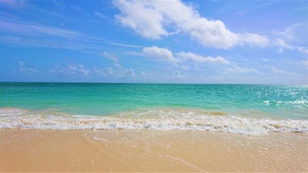 ハワイ ワイマナロビーチの写真