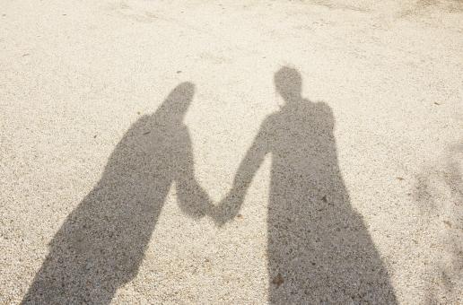 人物の影」に関する写真|写真素...